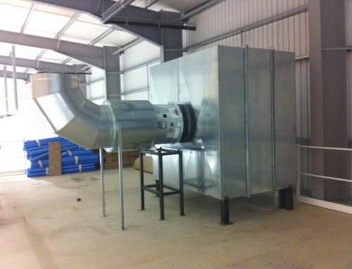 Dust Extraction & Filter Unit