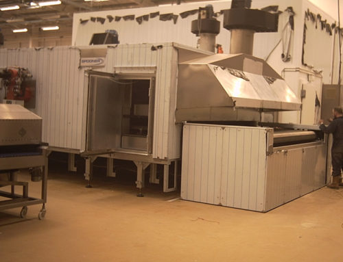 Installation of Conveyor Oven