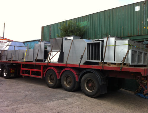 Loading Bespoke Duct Work